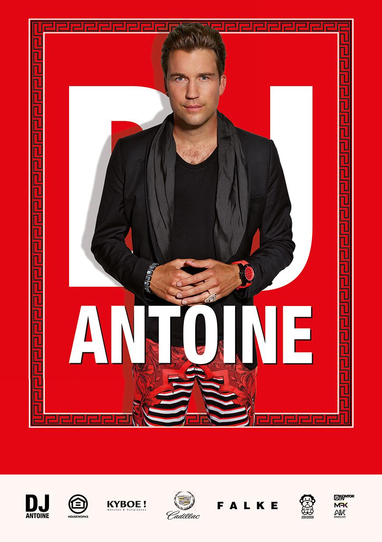 Autogrammkarte DJ Antoine - 2013 - Sky Is The Limit - Remixed -